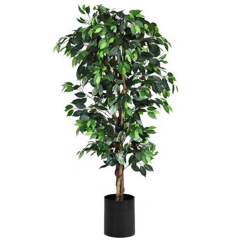 6 Ft Artificial Ficus Silk Tree