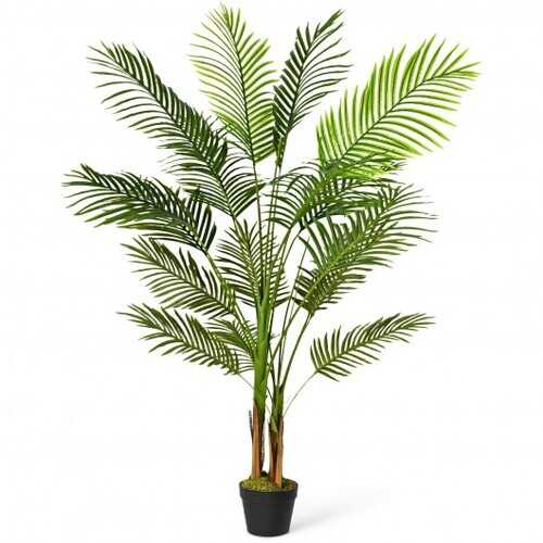 5 Ft Indoor Artificial Phoenix Palm Tree Plant - Size: 5 ft