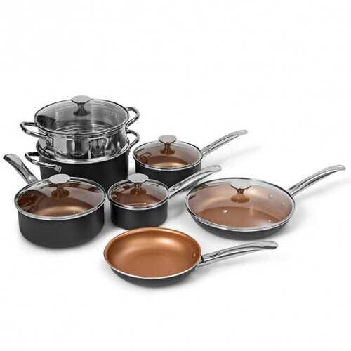 12-Piece Safe Non-stick Cookware Set