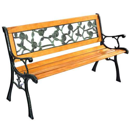 "GOPLUS 49 1/2"" Patio Park Garden Porch Chair Bench"