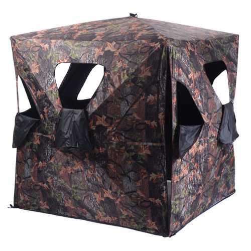 Ground Hunting Blind Portable Deer Pop Up Camo Hunter
