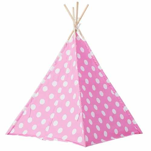 Teepee Children Playhouse Sleeping Dome Portable Play Tent