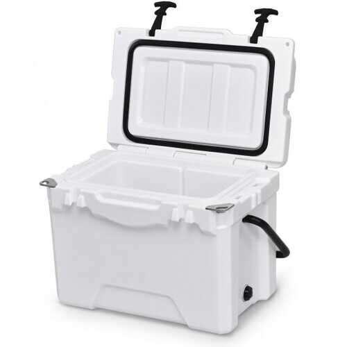 20QT Handle Lockable Fishing Camping Cooler Ice Chest