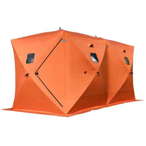 Waterproof Pop-up 8-person Ice Shelter Fishing Tent