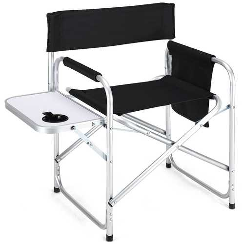 Folding Outdoor Camping Chair with Cup Holder