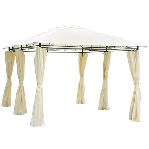 13' x 10' Gazebo Canopy Patio Party Tent w/ Side Walls