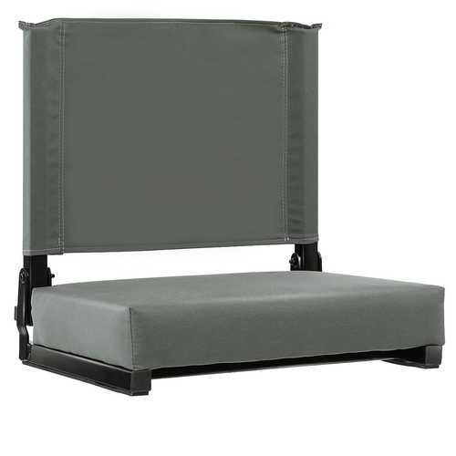 Portable Folding Padded Stadium Sports Grandstand Back Chair