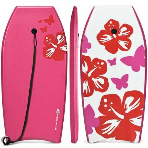 Lightweight Bodyboard Surfing with Leash EPS Core Boarding IXPE-M - Size: M