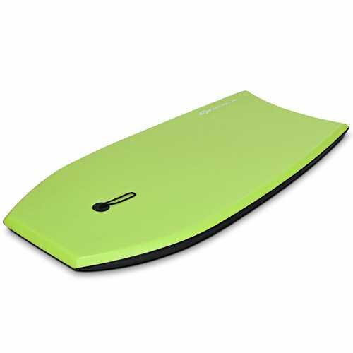 Super Surfing  Lightweight Bodyboard with Leash-M - Size: M