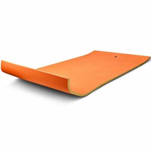 12' x 6' 3 Layer Floating Water Pad-Orange