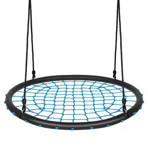 40'' Spider Web Tree Swing Set-Blue