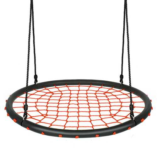 40'' Spider Web Tree Swing Set-Orange