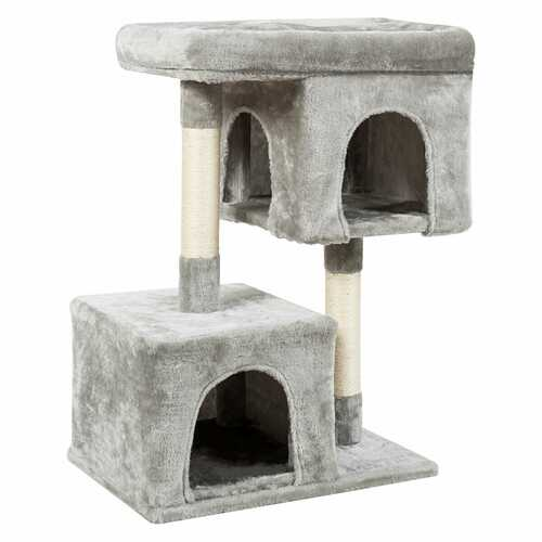 Luxury Cat Tree for Large Cats-Light Gray