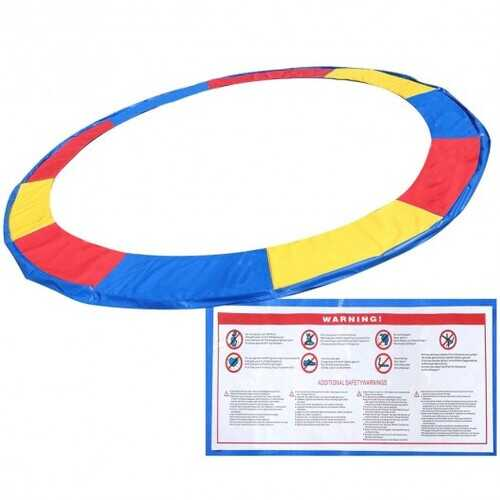 Colorful Safety Round Spring Pad Replacement Cover for 12' Trampoline