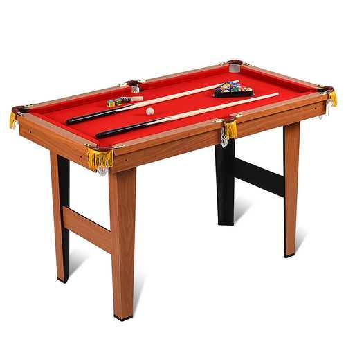 "48"" Mini Table Top Pool Table Game Billiard Set"