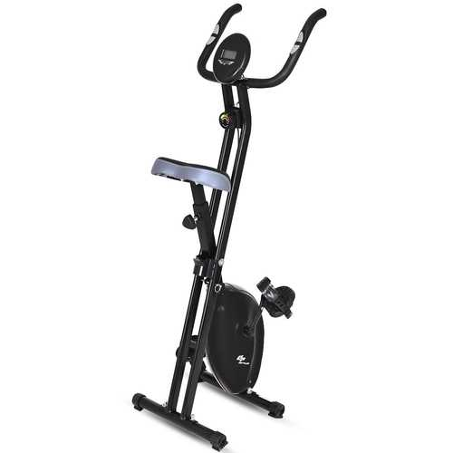 Resistance Adjustable Folding Magnetic Exercise Bike