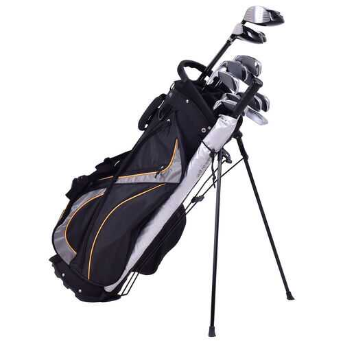 "9"" Golf Stand Bag Divider Carry Pockets Storage"