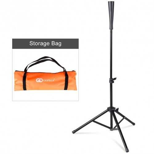 "28"" - 44"" Goplus Adjustable Baseball Tripod"