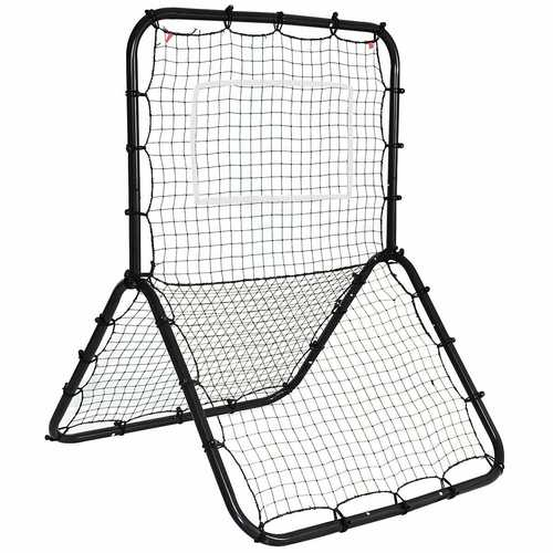 Baseball Softball Rebounder Throw Pitch Back Training Net