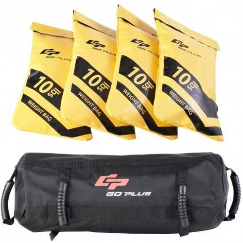 20/40/60 lbs Body Press Durable Fitness Exercise Weighted Sandbags-40 lbs