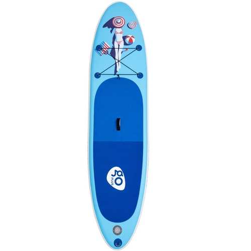 10' Inflatable Stand Up Paddle Board w/ Fin