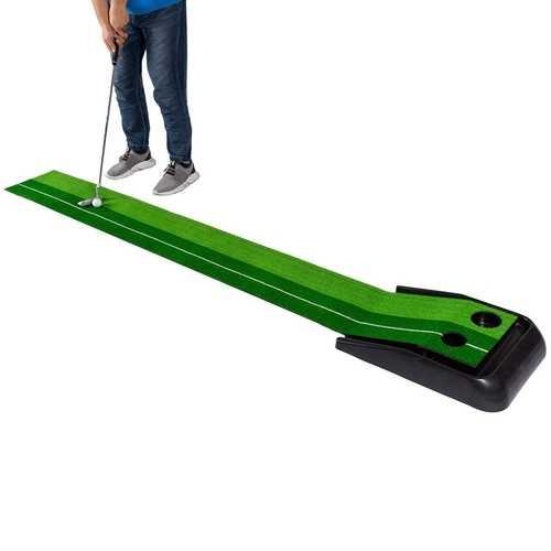8 ft Indoor / Outdoor Golf Green Grass Practice Putting Mat