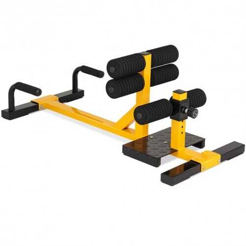 3-in-1 Sissy Squat Ab Workout Home Gym Sit Up Machine