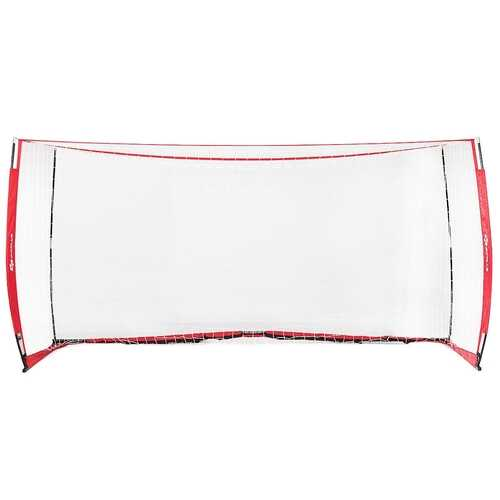 6'/12' Durable Bow Style Soccer Goal Net with Bag-8' x 4' - Size: 8' x 4'