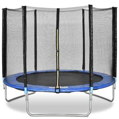 8' Safety Jumping Round Trampoline with Spring Safety Pad