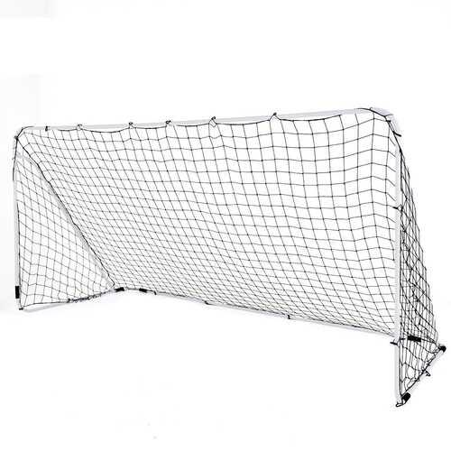 Outdoor Sports Weatherproof Steel Football Goal Net-6' x 4' - Size: 6' x 4'