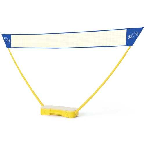Portable Badminton Set Folding Tennis Badminton Volleyball Net