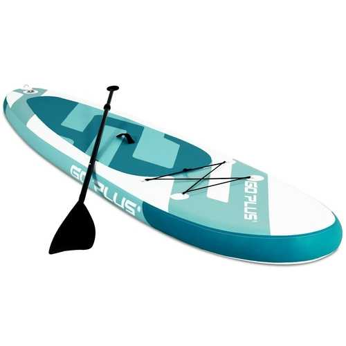 11' Inflatable Stand up Paddle Board Surfboard with Bag