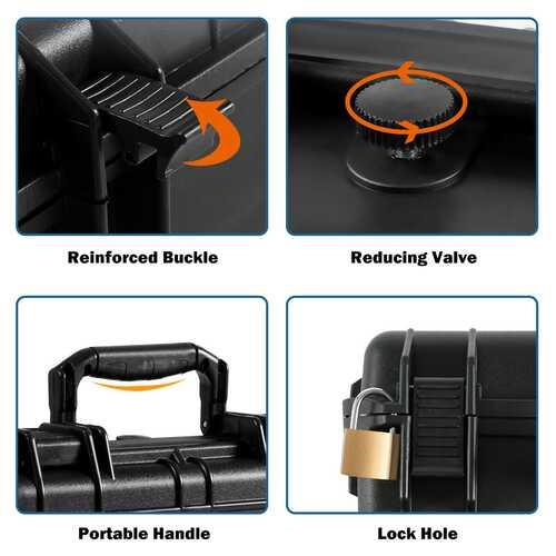 Foldable Knee Walker W/ Basket and Dual Brakes-Black