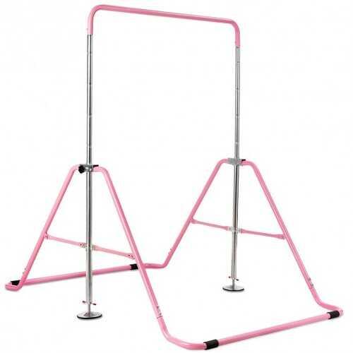 Expandable Gymnastics Training Bar Adjustable Junior Horizontal Kip Bar