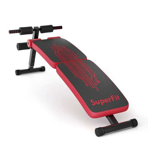 Abdominal Twister Trainer with Adjustable Height Exercise Bench
