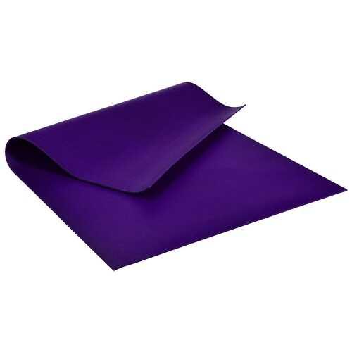 Large Yoga Mat 6' x 4' x 8 mm Thick Workout Mats-Purple - Color: Purple