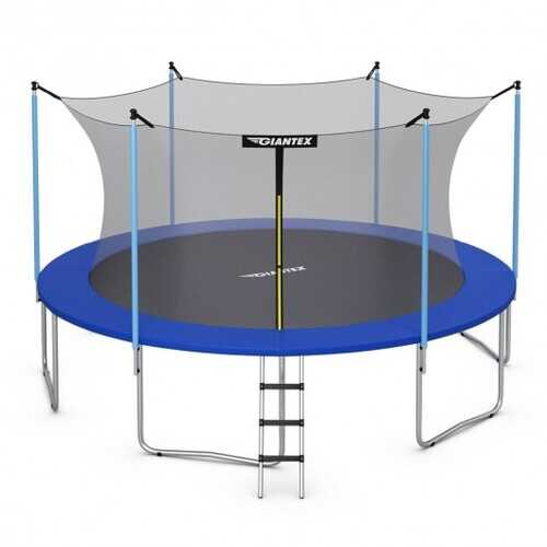 12 FT Trampoline Combo Bounce with Spring Pad Ladder