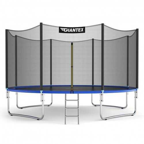 12/14 ft Trampoline Bounce Jump Combo with Spring Pad-14' - Size: 14'