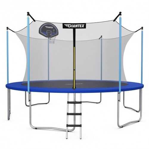 15FT Trampoline Combo Bounce Jump - Size: 15'