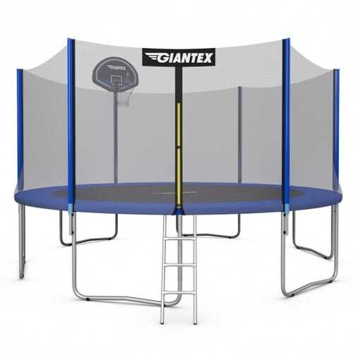 14 Ft Trampoline Combo Bounce Jump - Size: 14'