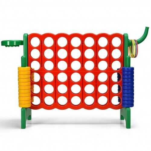 2.5Ft 4-to-Score Giant Game Set-Green - Color: Green