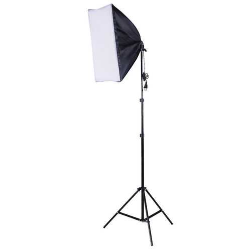 2 PCS Lighting Softbox Stand Photography Equipment Light Kit