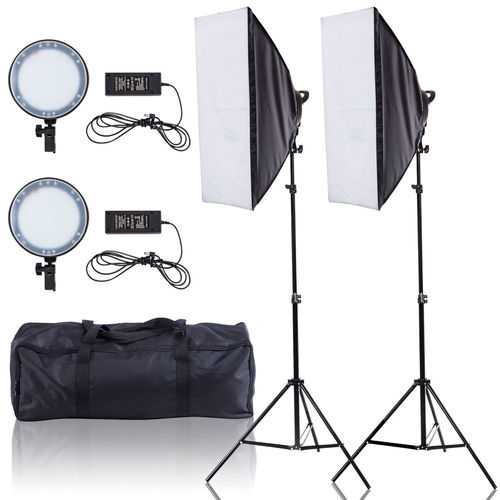 Adjustable Bright LED Softbox with 126 LED Beads