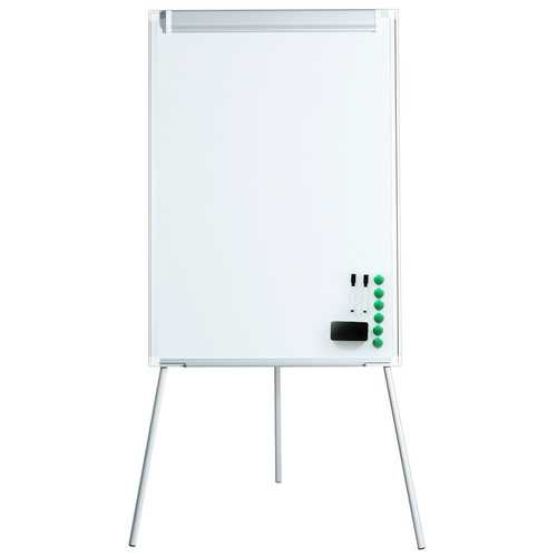 "40"" x 28"" Dry Erase Height Adjustable Tripod White Board Easel"
