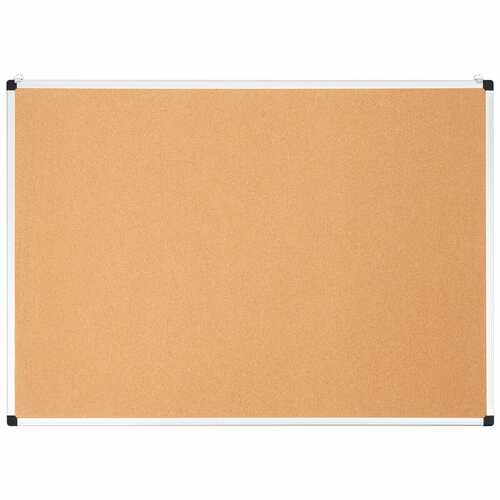 """44"""" x 32"""" Cork Notice Pin Board  with Aluminum Frame-1 Pack"""