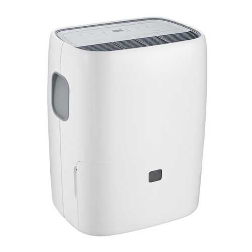 Portable 30 Pint Humidity Control Dehumidifier with Casters
