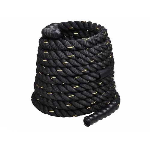 """1.5"""" Poly Dacron Training Rope 30' Battle Rope Strength Undulation Exercise"""