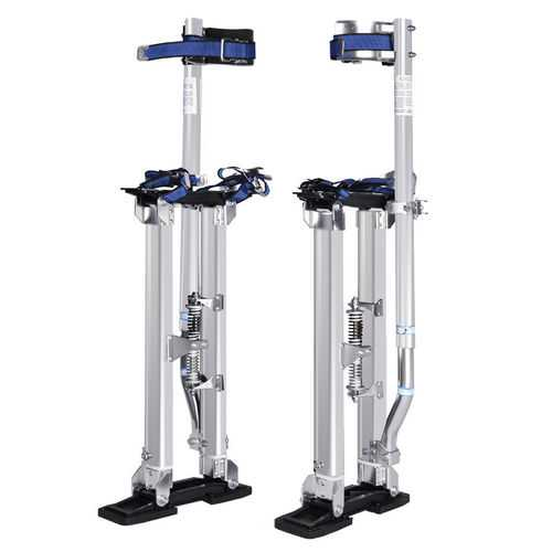 "Silver 18""-30"" Drywall Aluminum Stilts"