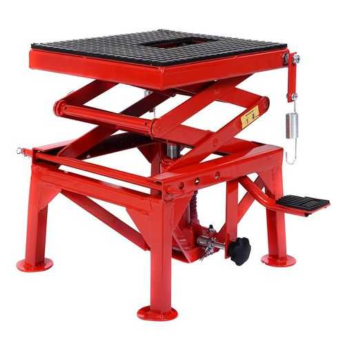 300 lb Motorcycle Hydraulic Scissor Floor Jack Lift