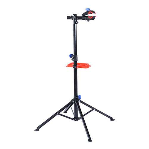 """Pro Bike Adjustable 41"""" To 75'' Cycle Bicycle Rack Repair Stand w/ Tool Tray Red"""
